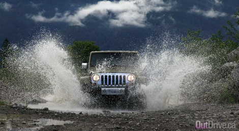 2013 Jeep Wrangler Unlimited Sahara Review by OutDrive.ca